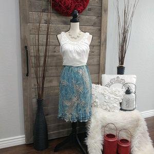 👀❤TOTO N KO ~~ Ruffle Skirt